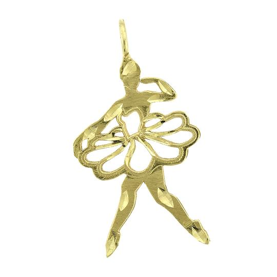 Preload https://item1.tradesy.com/images/avital-and-co-jewelry-yellow-gold-14k-ballet-dancer-vintage-charm-23366775-0-1.jpg?width=440&height=440