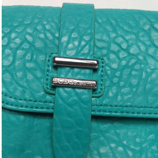 BCBGeneration Teal Clutch
