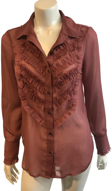 Preload https://item4.tradesy.com/images/free-people-rose-135418-semi-sheer-ruffle-button-front-sp-blouse-size-4-s-23366788-0-1.jpg?width=400&height=650