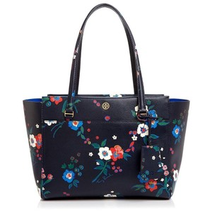Tory Burch Summer New With Tags Tote in Floral Multi blue