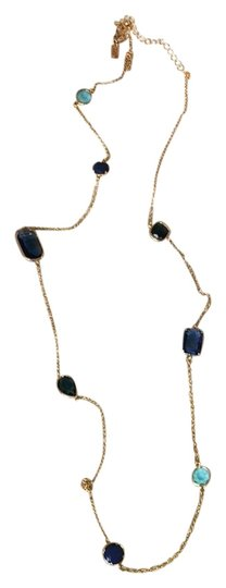 Preload https://img-static.tradesy.com/item/23366882/kate-spade-blue-and-gold-necklace-0-1-540-540.jpg