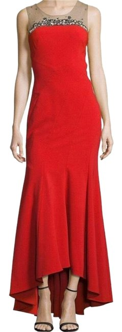 Preload https://img-static.tradesy.com/item/23366887/marchesa-notte-red-sleeveless-contour-ponte-gown-long-formal-dress-size-4-s-0-1-650-650.jpg