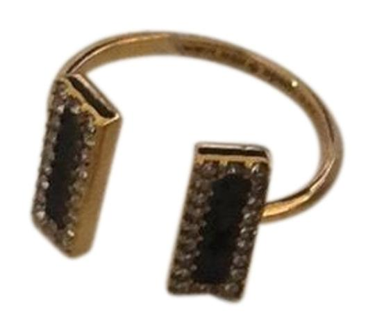 Preload https://item1.tradesy.com/images/kate-spade-black-and-gold-ring-23366930-0-1.jpg?width=440&height=440