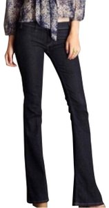 Elizabeth and James Flare Leg Jeans-Dark Rinse