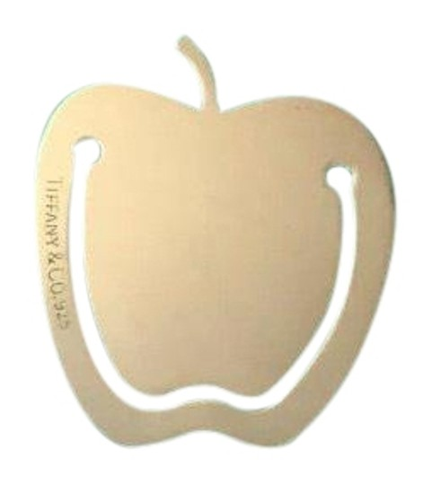 Tiffany & Co. Sterling Silver Apple Bookmark w/Packaging