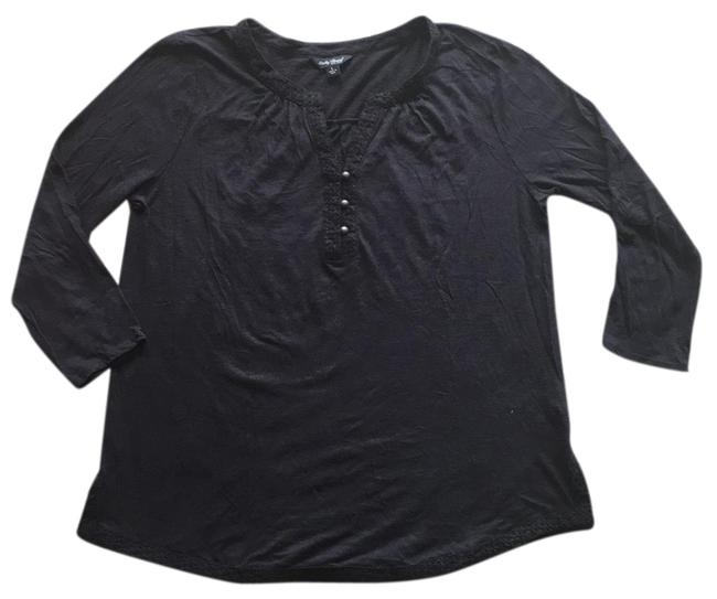 Preload https://img-static.tradesy.com/item/23367049/lucky-brand-black-tee-shirt-size-12-l-0-1-650-650.jpg