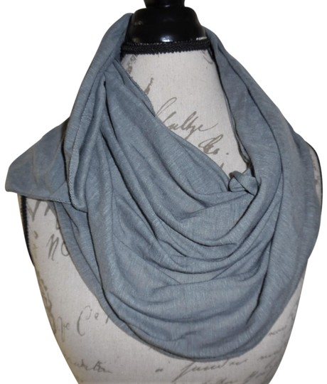 Preload https://item1.tradesy.com/images/gray-stretchy-thin-t-shirt-scarfwrap-23367075-0-1.jpg?width=440&height=440