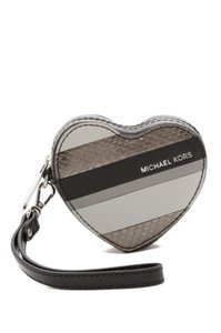 Michael Kors Michael Kors Leather Heart Coin Purse Key Fob