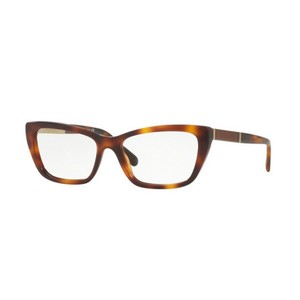 Burberry BE2236F-3316 Cat Eye Women's Light Havana Frame Genuine Eyeglasses