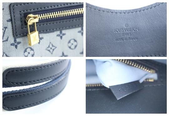 Louis Vuitton Mary Marie Kate Josephine Lucille Satchel in Navy