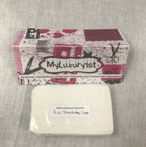 White 3 Oz Real Glycerin Bar Bath Accessory