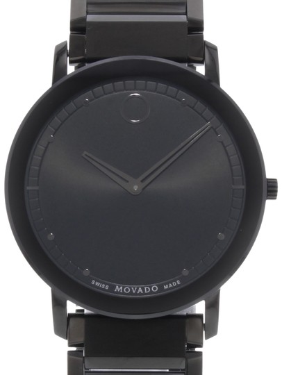 Movado Sapphire 0606882 Black PVD Stainless Steel Quartz Watch (19974)