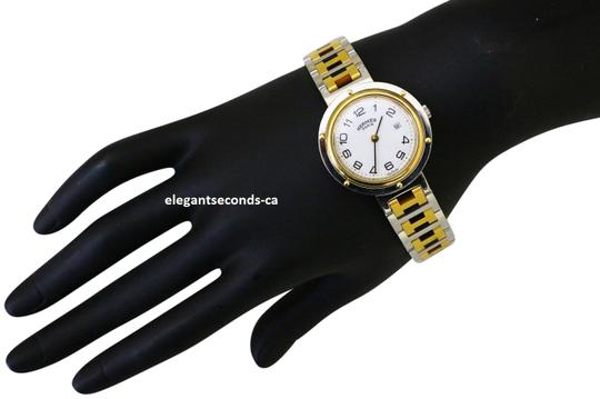 Preload https://item3.tradesy.com/images/hermes-vintage-clipper-quartz-two-tone-gold-silver-watch-23367222-0-1.jpg?width=440&height=440