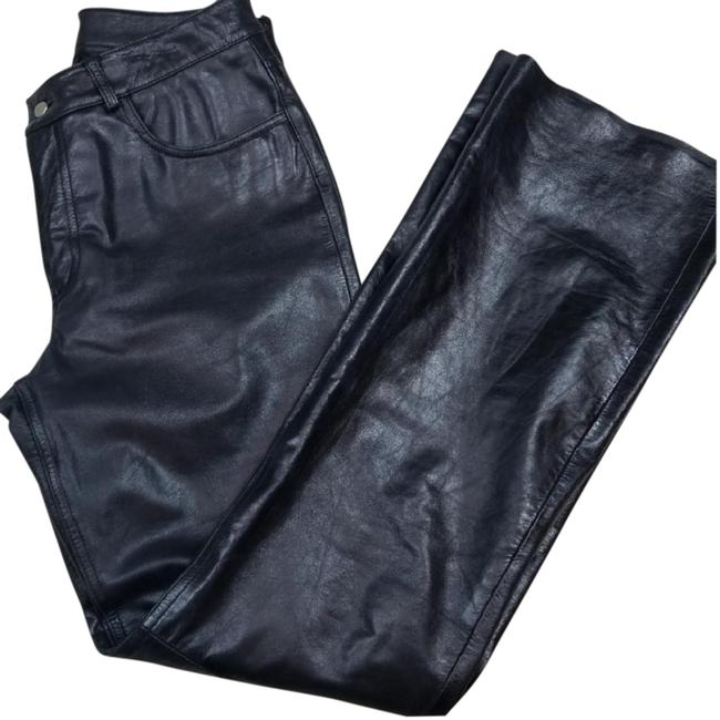 Preload https://item4.tradesy.com/images/express-black-genuine-leather-pants-size-8-m-29-30-23367253-0-3.jpg?width=400&height=650