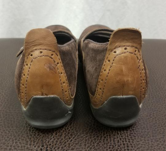 Merrell Suede Flats Brown Athletic Image 3