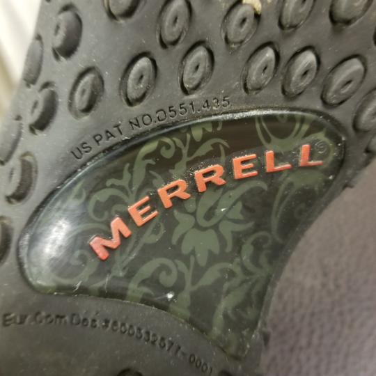 Merrell Suede Flats Brown Athletic Image 8
