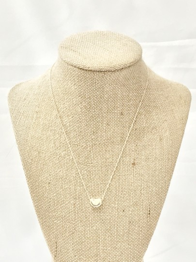 Tiffany & Co. Tiffany & Co. Elsa Peretti Sterling Silver Bean Pendant 925 Necklace