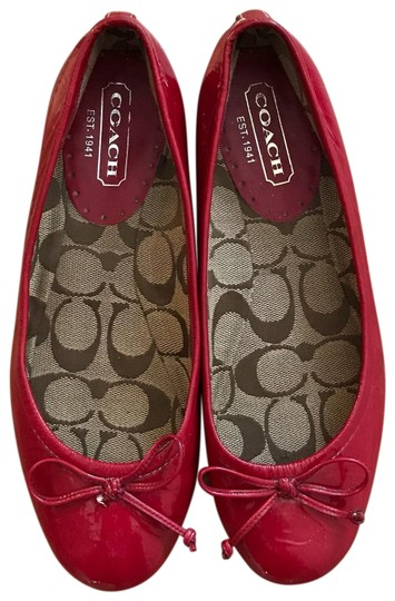 Preload https://item3.tradesy.com/images/coach-red-lonnie-patent-leather-ballet-flats-size-us-6-regular-m-b-23367387-0-1.jpg?width=440&height=440