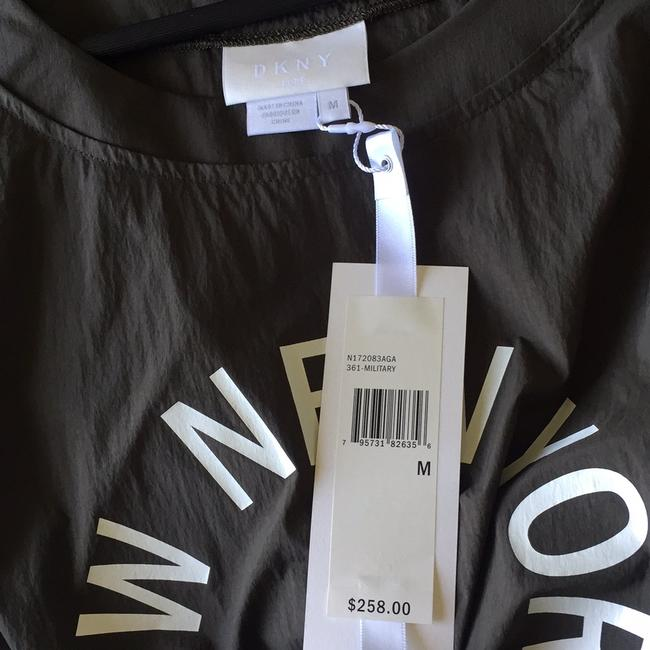 DKNY Top military green