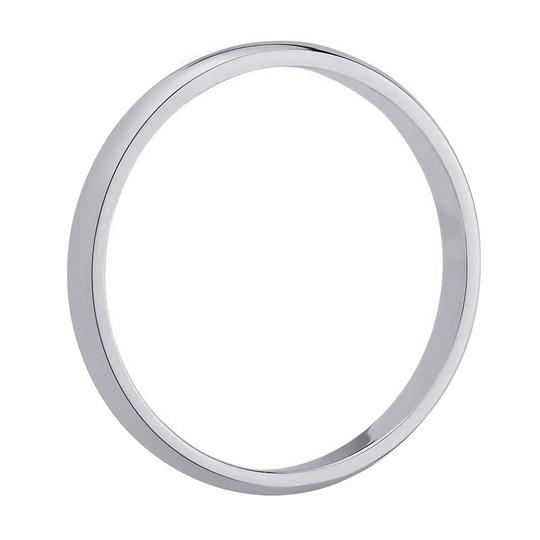 Avital & Co Jewelry 14k White Gold 6.0mm Comfort Fit Men's Wedding Band