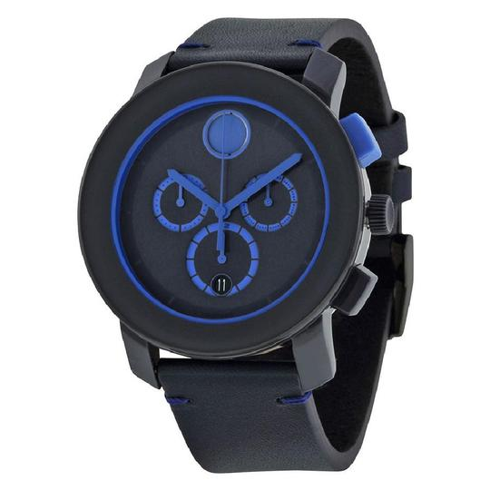 Preload https://img-static.tradesy.com/item/23367415/movado-navy-blue-bold-chronograph-dial-leather-men-s-watch-0-0-540-540.jpg
