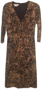 Kay Unger Silk Dryclean Only Dress