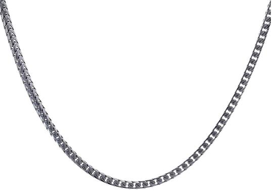 Preload https://img-static.tradesy.com/item/23367507/avital-and-co-jewelry-14k-white-gold-38-inch-curb-link-chain-105-grams-necklace-0-1-540-540.jpg