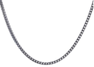 Avital & Co Jewelry 14K White Gold Curb Link 36 Inch Chain 74 Grams
