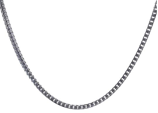 Preload https://img-static.tradesy.com/item/23367536/avital-and-co-jewelry-14k-white-gold-curb-link-36-inch-chain-74-grams-necklace-0-1-540-540.jpg
