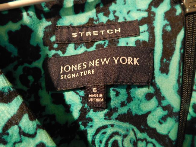 Jones New York short dress Teal Blue on Tradesy