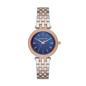 Michael Kors $250 NWT Mini Darci Two-Tone Three-Hand Watch MK3651