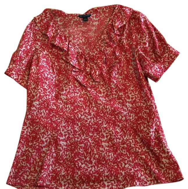 Item - Red Blouse Size 12 (L)