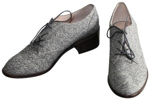 Louise et Cie Flats Tweed Oxford Black/White/Black Boots