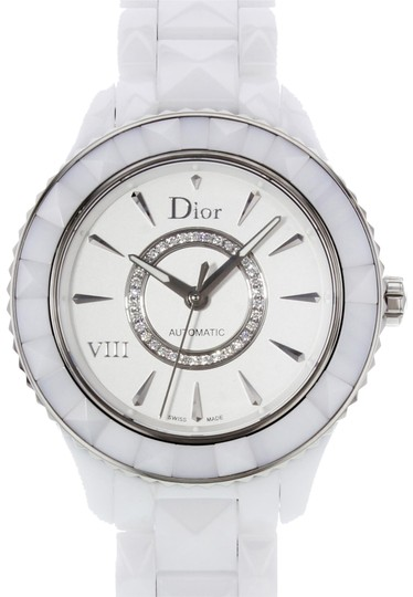 Preload https://img-static.tradesy.com/item/23367981/dior-white-cd1245e3c002-ceramic-and-stainless-steel-19937-watch-0-1-540-540.jpg