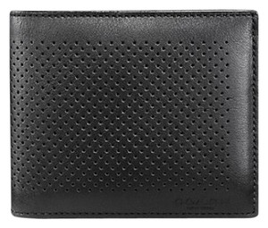 Coach COMPACT ID WALLET IN PERFORATED LEATHER