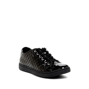 Geox Casual Bootie Sneaker Quilted & Gold Black Athletic