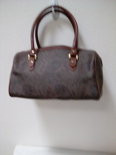 Liz Claiborne Tote in Brown and Green