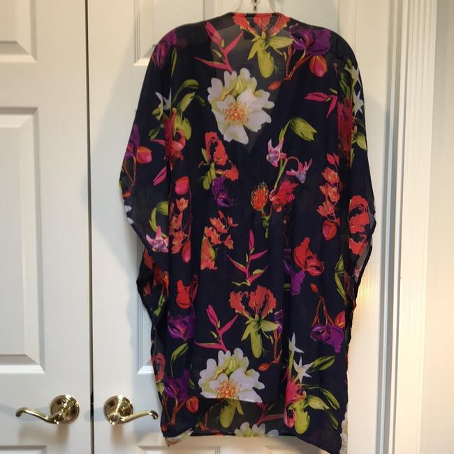 Lucky & Coco mimosa floral cover up
