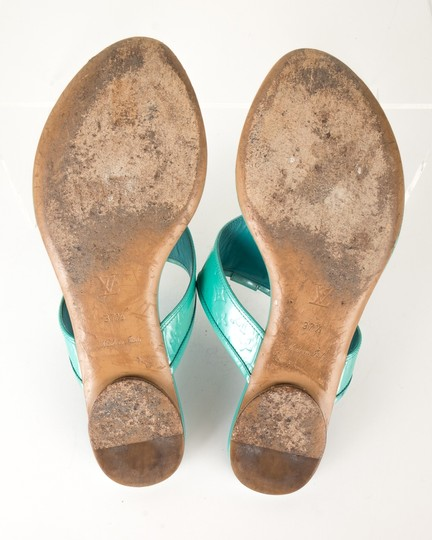 Louis Vuitton turquoise Sandals
