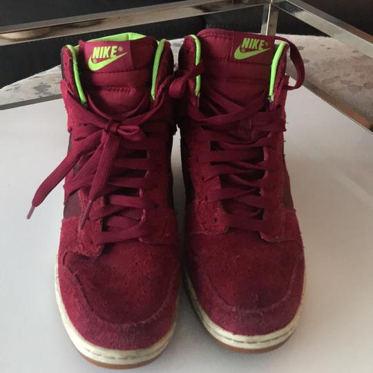 Nike red camouflage Athletic