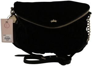 Juicy Couture Quilted Velvet Mini Traveler Cross Body Bag