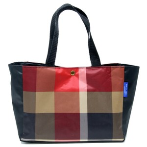 Burberry Super Novacheck Haymarket Weekend Travel Tote in Red