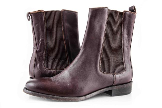 Item - Brown Leather Boots/Booties Size US 6.5 Regular (M, B)