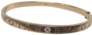 BVLGARI Bvlgari Bvlgari gold bracelet bangle with diamonds