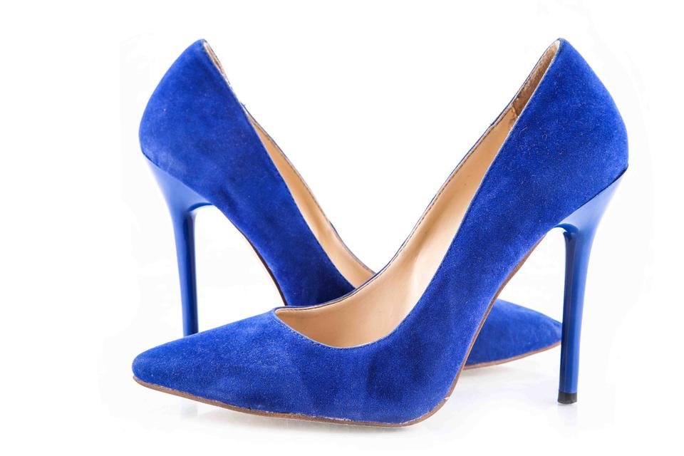 b75d8241bfb Jimmy choo blue abel suede point toe pumps size us regular jpg 960x640  Jimmy choo blue