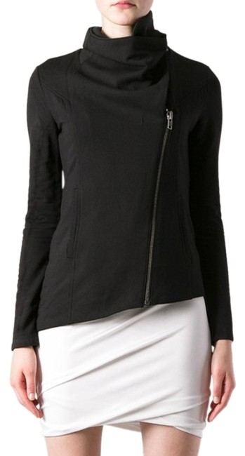 Preload https://img-static.tradesy.com/item/23369172/helmut-lang-black-high-collar-villous-sweatshirt-zip-spring-jacket-size-2-xs-0-3-650-650.jpg