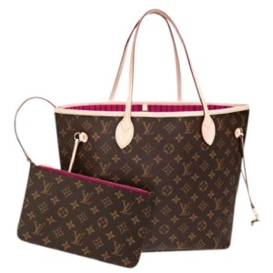 Louis Vuitton Neverfull Luxury Limited Edition European Tote in Brown Monogram