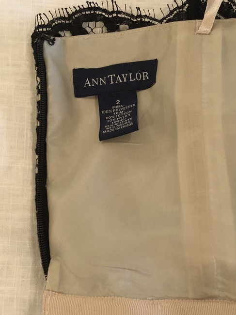 Ann Taylor Strapless Lace Dress