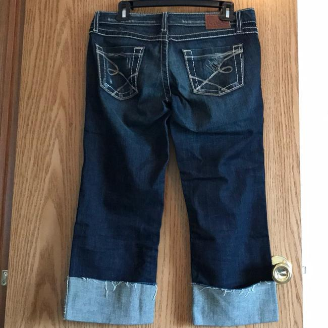 BKE Straight Leg Jeans-Distressed