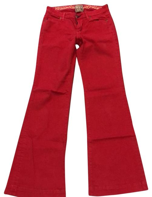 Item - Red #71-5022 Flare Leg Jeans Size 4 (S, 27)
